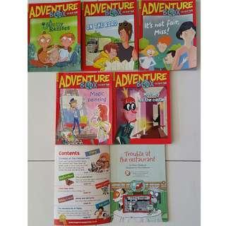 Adventure Box Readers (Set of 6)