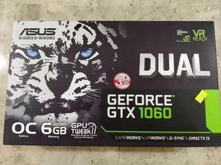 ASUS GTX 1060 Dual 6GB Graphics Card