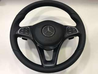 2018 Mercedes-benz CLA180 original steering wheel with airbag