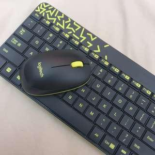 Logitech Wireless Mouse and Keyboard Combo