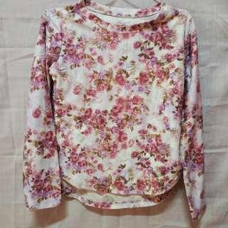 Kaos Floral/ Bunga