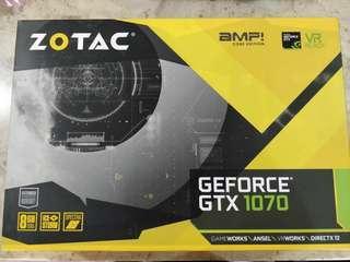 Zotac GTX 1070 AMP Core 8GB Graphics Card