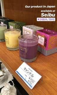 Aromatherapy candle #bersihbersih