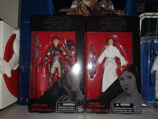 Star Wars Black Label Sabine Wren & Princess Leia