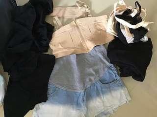 Hands free bra and bundle
