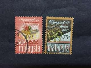 Malaysia 1968 Olympiad 19 MexicoComplete Set - 3v Used Stamps #1