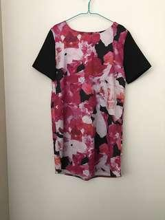Flower dress uk12 Size L