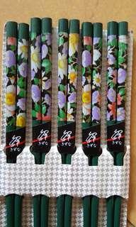 🚚 全新木頭筷子5雙