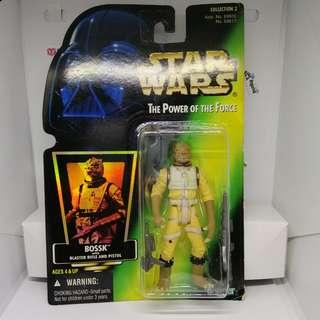 (genuine from Japan) Star Wars Bossk Bounty Hunter POTF toy figure