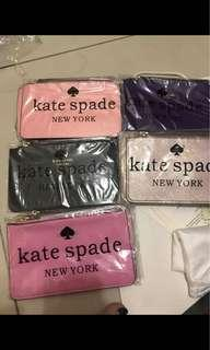 (Stock Clearance)Kate spade wristlet buy 3 free 2