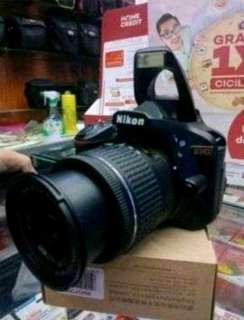 Nikon D4300 cicilan free 1x angsuran