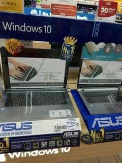 Laptop Asus cicilan free 1x angsuran