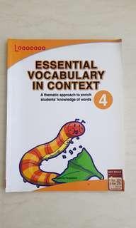 Primary 4 Essential Vocabulary in Context (Retail Price $8.45)