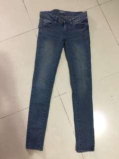 葵涌廣場購入 韓貨 藍色牛仔褲