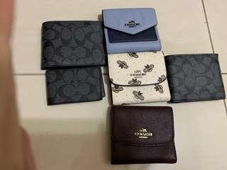 Ready stock coach wallet mini purse card holder