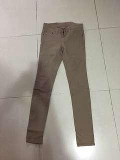葵涌廣場購入 韓貨 杏色牛仔褲