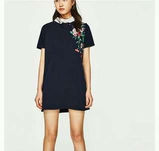 Authentic Zara Dress with Collar