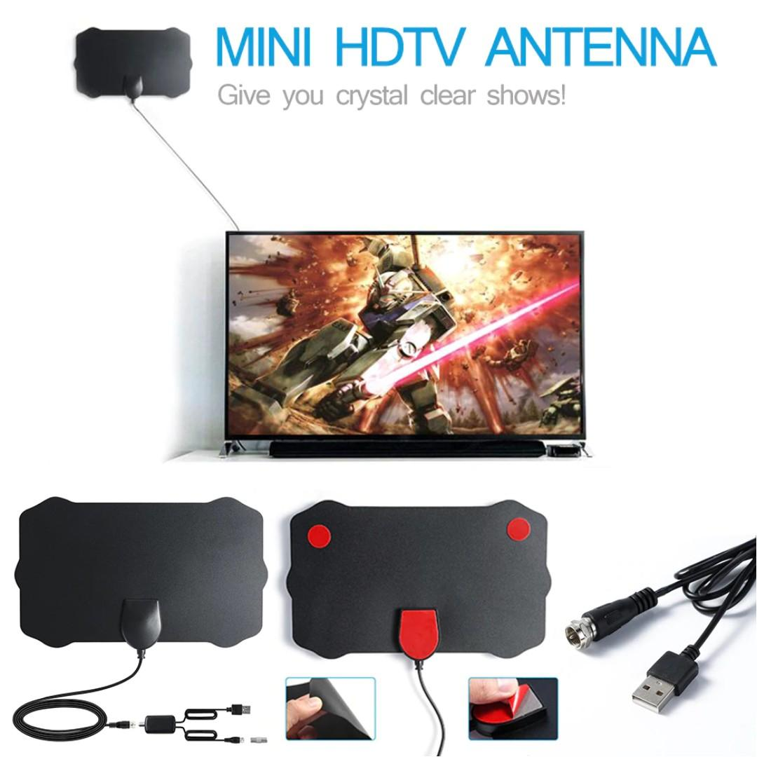 120 Miles TV Antena 1080P Digital HDTV Indoor TV Antenna