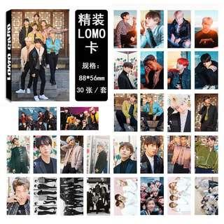 [po]BTS Lomo Cards