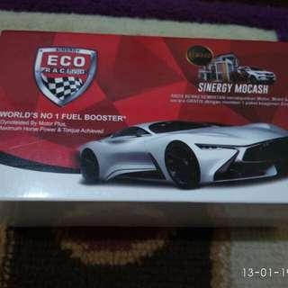 Eco racing mobil dengan bahan bensin