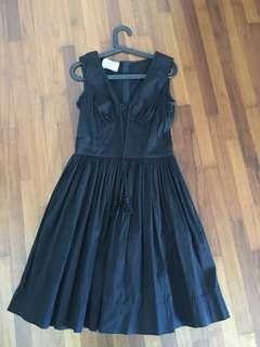 Prada black dress Italian size 42/EU size 38