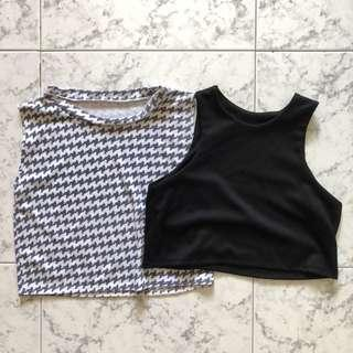 [2 for $6] Basic Crop Top