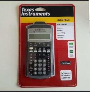New Sealed Texas Instruments BA II Plus