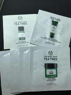 (包郵)Body Shop 茶樹系列試用裝6件