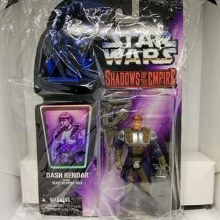 (genuine) Hasbro Kenner Star Wars Shadow of the Empire Dash Rendar