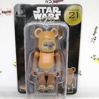 (genuine) Bearbrick x Star Wars Wicket toy figure