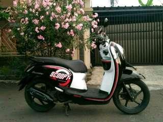 Honda Scoopy Metro Black 2016 Istimewa