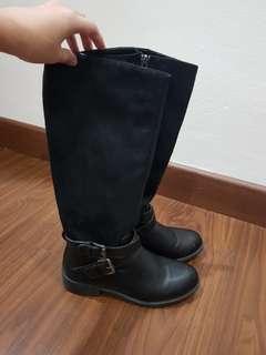 Sepatu Boot black