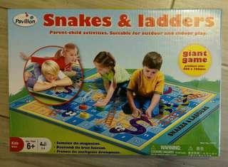 Snake and Ladders 兒童益智玩具 蛇棋 飛行棋 Kids chess game 棋類