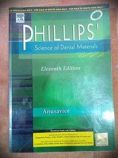 PHILLIPS' Science of Dental Materials Eleventh Edition 2009 Anusavice