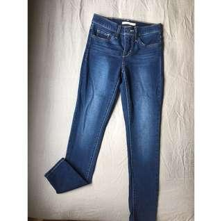 BN Levi's 311 Shaping Skinny jeans W25 L30