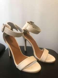 Rubi shoes heels size 37 WHITE