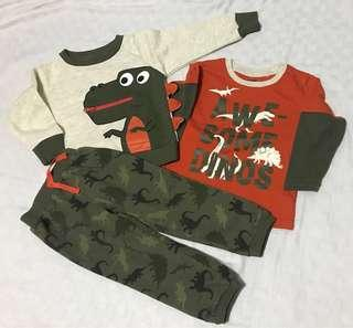 Little Rebels 3pc Outfit 2T