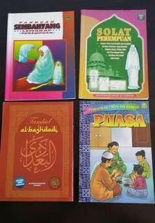 Buku Agama- Belajar Solat- Sembahyang - Islamic Book
