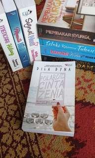 Novel Melayu ~ Polaroid Cinta Zenia by Dila Dyna