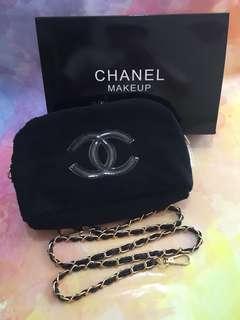 Chanel 毛絨鍊袋handbag