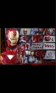 Hot toy iron man mark 6 diecast
