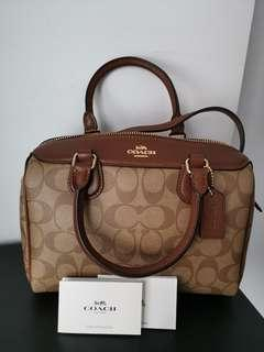Coach Mini Satchel Saddle Bag