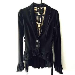 Penny Dreadful (Original) Jacket Sweater Coat Gothic Goth Punk Rock Dark Black Frills