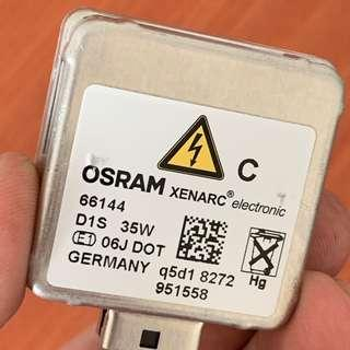 1x D1S OSRAM XENARC 35W Xenon HID Headlight Bulb 66144