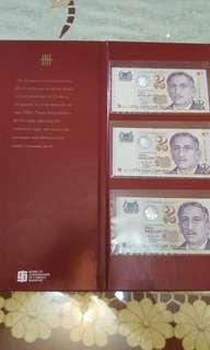 2 DOLLARS SGD. NOTE YR 2000