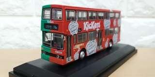 平治巴士 模型 九巴