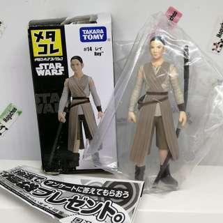(genuine from Japan) Metacolle Star Wars Rey diecast figure