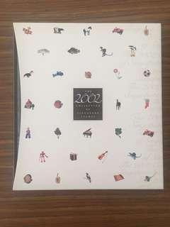 Liquidation Sale - The 2002 Collection of Singapore Stamp Album New