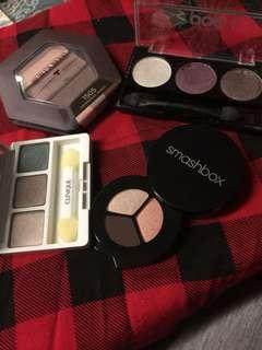 Eyeshadow trios - smashbox - clinique