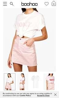 Honey white/pink top